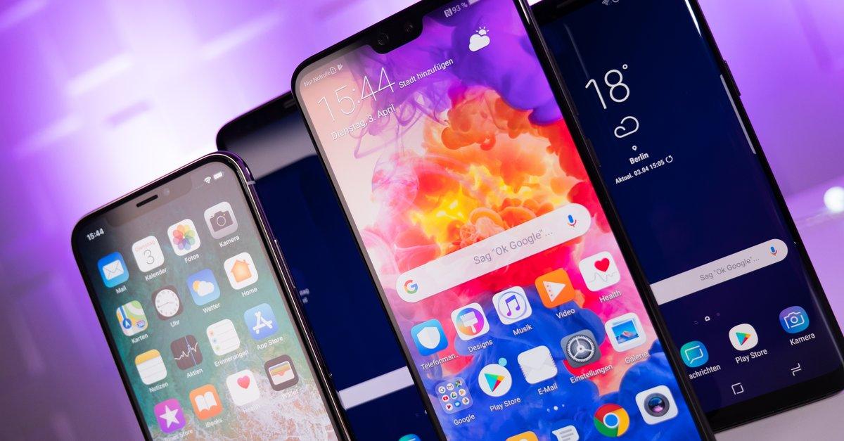 Vergleich Iphone X Und Samsung Note