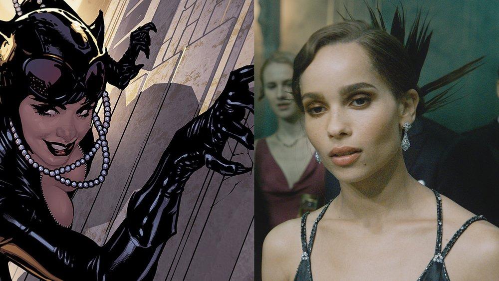 Mit Robert Pattinson: Zoe Kravitz wird in Batman-Film Catwoman spielen