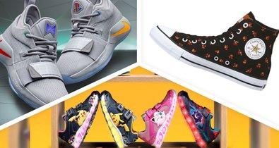 Ein neuer Naruto Sneaker im Kakashi Look vorgestellt