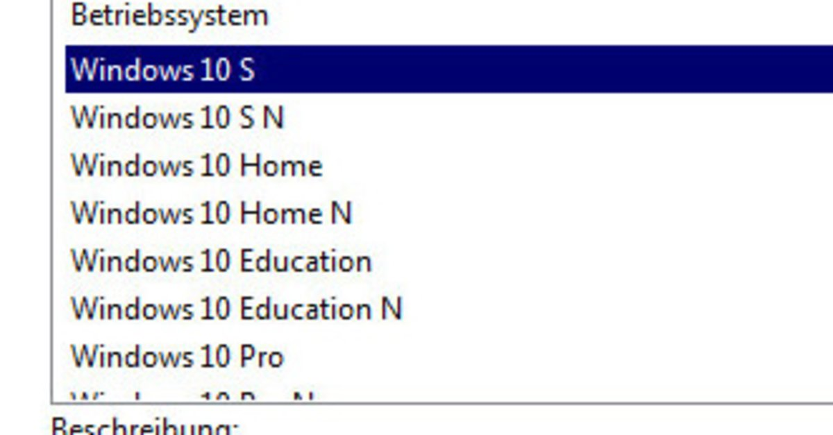 Windows 10: Alle Versionen und Funktionen im Vergleich
