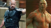 MCU versus DC: Dave Bautista beleidigt Dwayne Johnson deutlich