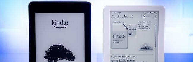 Kindle 2019 und Kindle Paperwhite im Vergleich: Darf's noch günstiger sein?