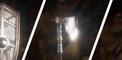 Assassin's Creed Valhalla: Alle Waffen, Schilde und Bögen - Fundorte, Bilder und Werte