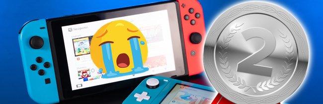 Nintendos Bestseller-Konsolen: Für die Switch gibt's nur die Silbermedaille