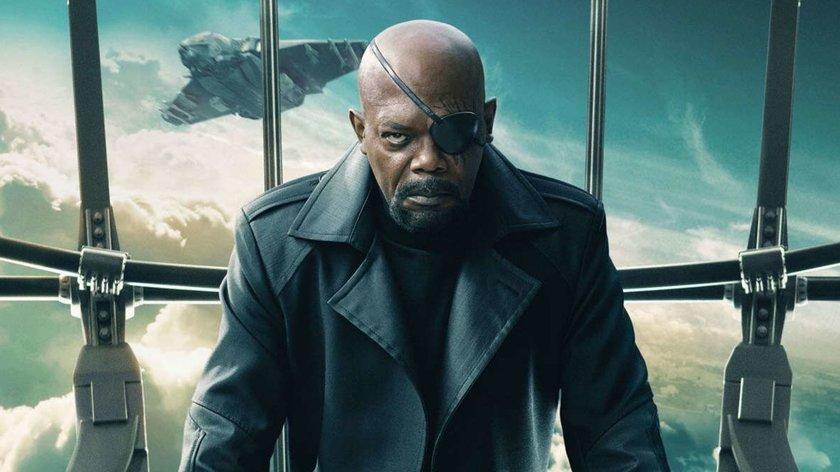 "Überraschung beim MCU-Highlight ""The Marvels"": Erstes Bild enthüllt älteren Nick-Fury-Look"