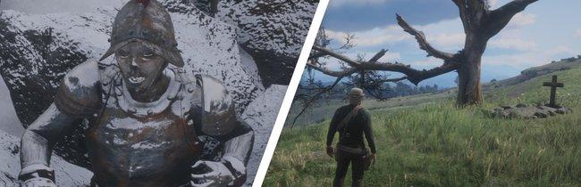 Red Dead Redemption 2: Alle interessanten Orte - Fundorte auf der Karte