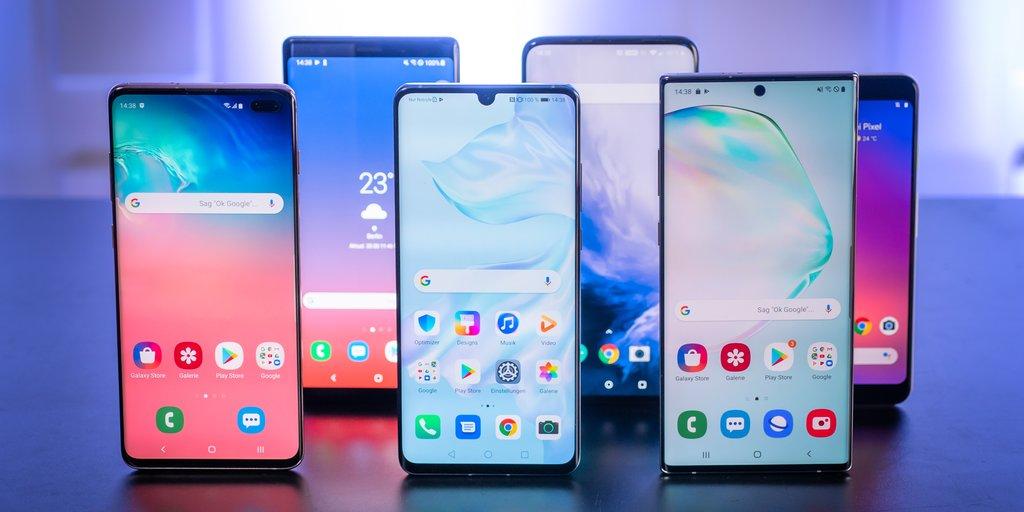 Android 10: Diese Smartphones erhalten das Update für Googles Betriebssystem