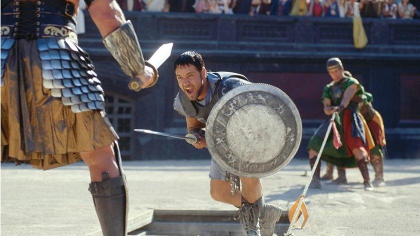 """Russell Crowe veralbert Fans mit fieser """"Gladiator 2""""-Ankündigung"""