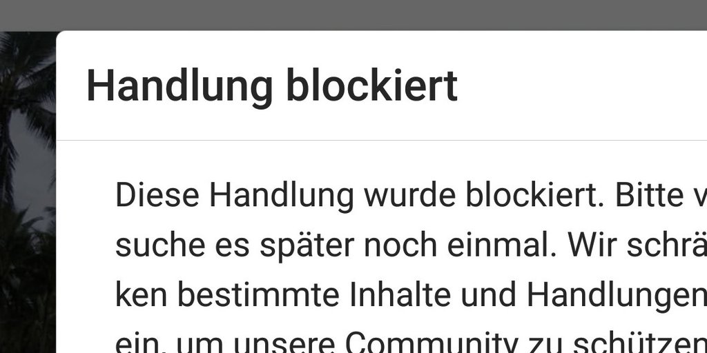 Person story instagram blockiert How to