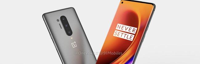 OnePlus 8 Pro: So schön könnte das nächste Top-Smartphone aussehen