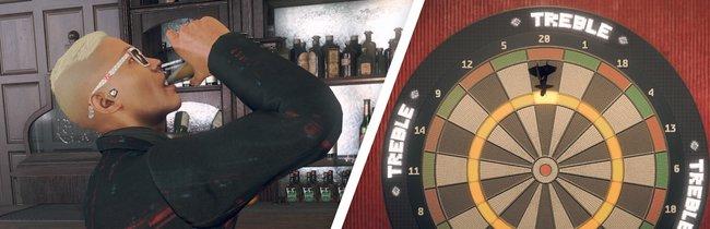 Watch Dogs Legion: Alle Dartspiele und Orte zum Trinken - Fundorte auf der Karte