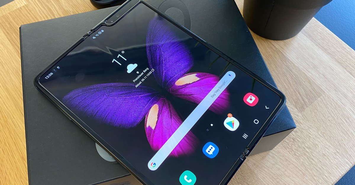 Samsung Galaxy Fold: Zwei Wochen mit der Handy-Revolution