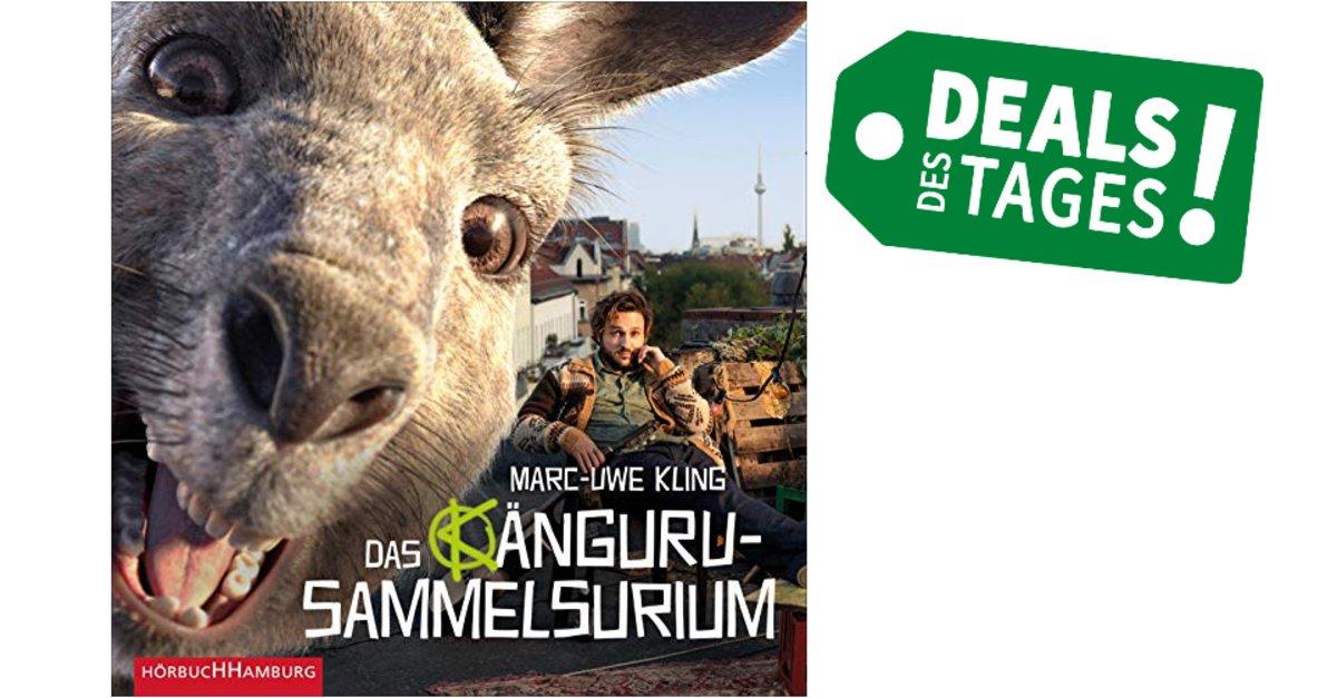 """Gratis-Hörbuch: """"Känguru-Sammelsurium von Marc-Uwe Kling"""