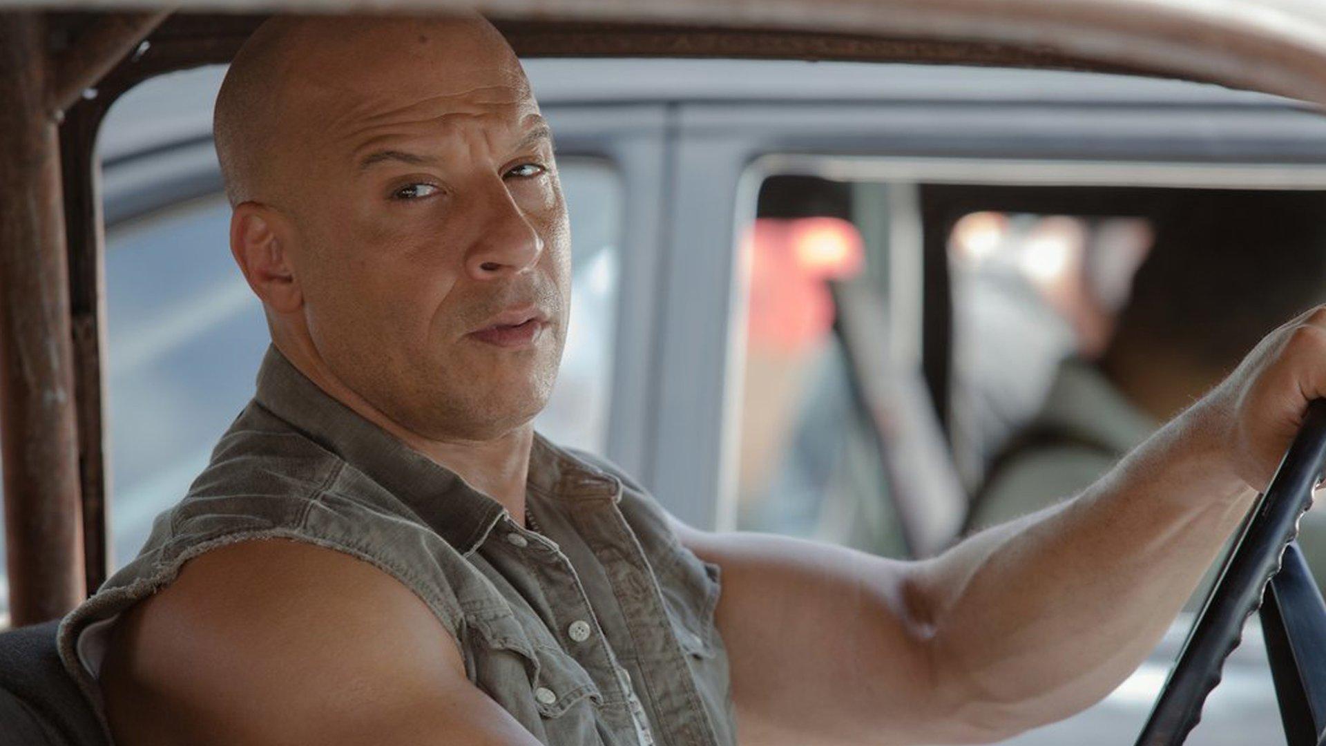 Diesel haare vin Vin Diesel