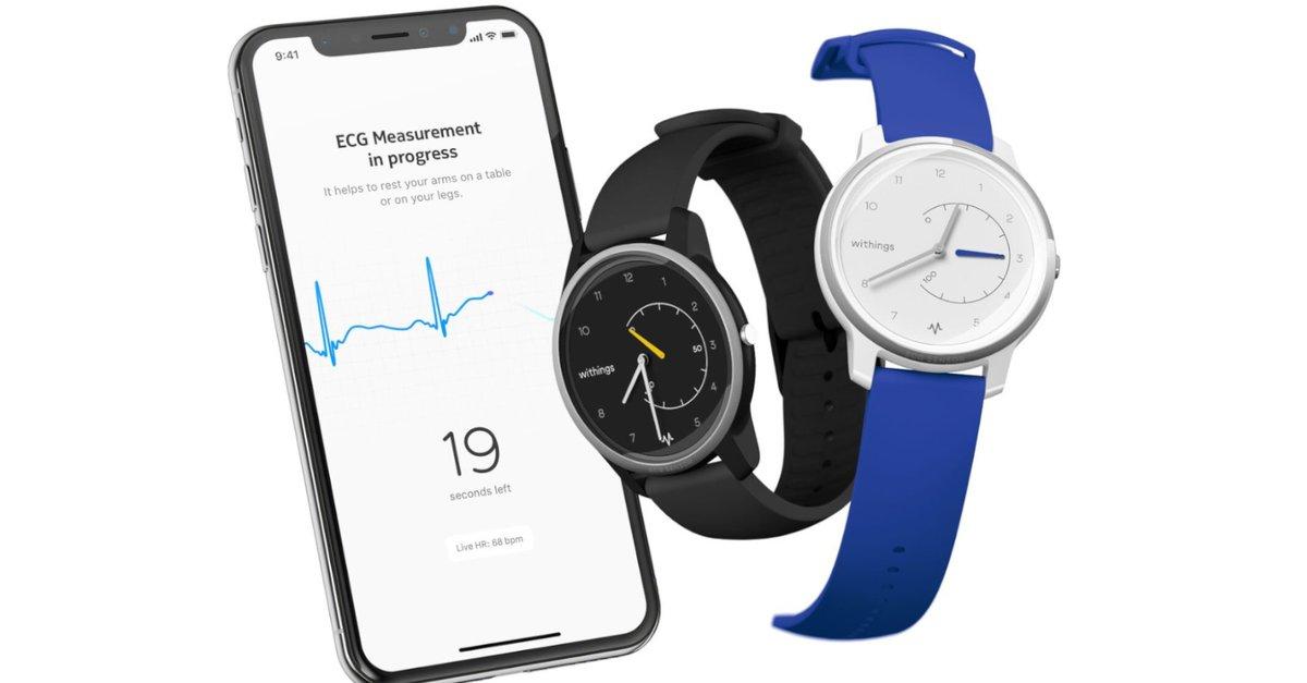 Apple Watch im Visier: Withings stellt Smartwatch mit EKG-Funktion und 12 Monaten Akkulaufzeit vor