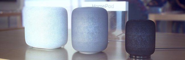 HomePod: So schön könnten weitere smarte Apple-Lautsprecher aussehen