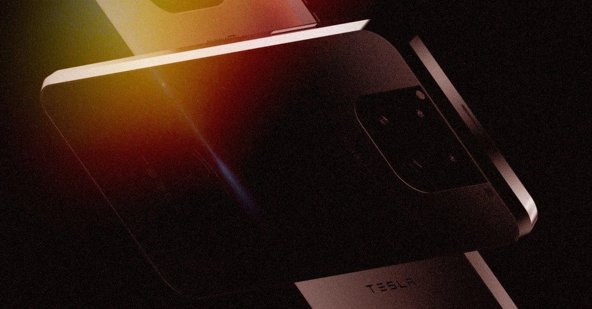 Teslas erstes Smartphone: Diese Handy-Idee haut uns um - Giga
