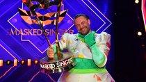 """""""The Masked Singer"""" Dinosaurier gewinnt: Sasha enthüllt als letzter sein Kostüm"""
