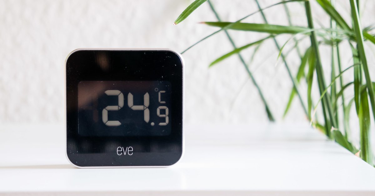 elgato eve degree im test thermometer mit homekit anbindung. Black Bedroom Furniture Sets. Home Design Ideas