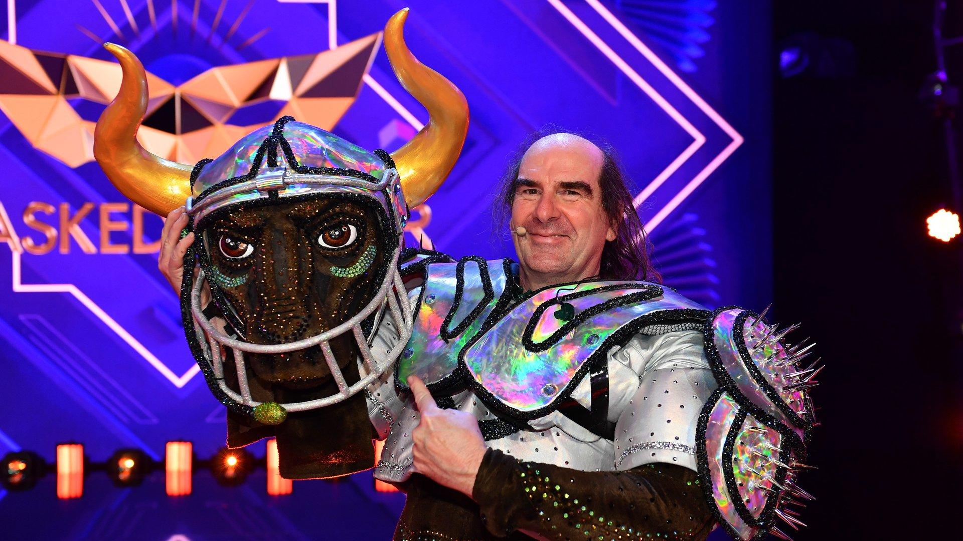 """""""The Masked Singer"""" Stier enttarnt: Es ist Guildo Horn ..."""