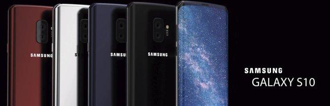 Samsung Galaxy S10: So schick könnte das neue Flaggschiff aussehen