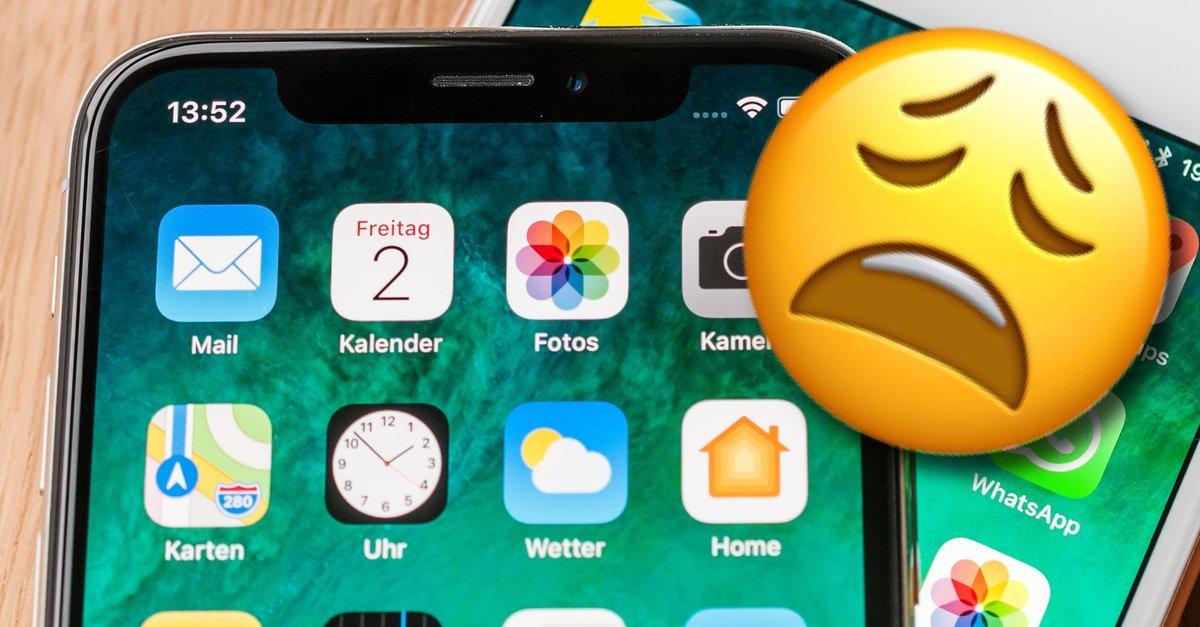 iphone x fehler