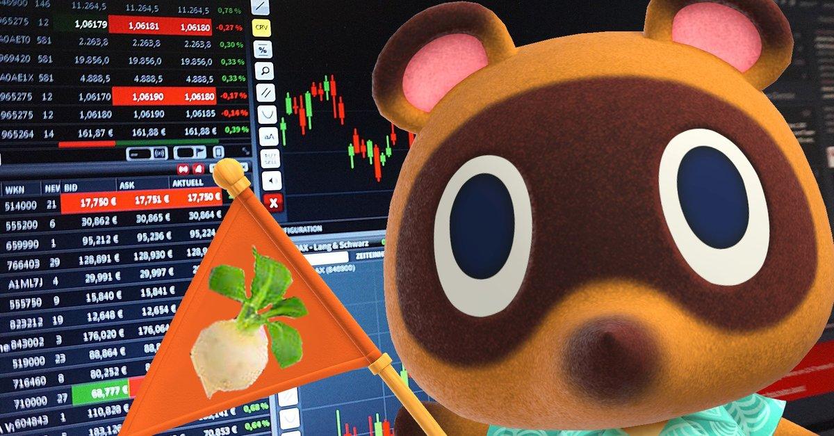 Animal Crossing-Spieler stürmen das Rüben-Geschäft, um reich zu werden