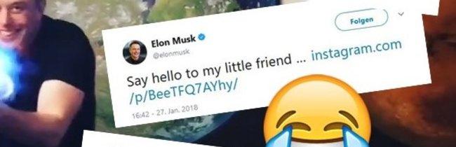 Flammenwerfer von Elon Musk: Die 9 besten Reaktionen zum Geniestreich des Tesla-Gründers