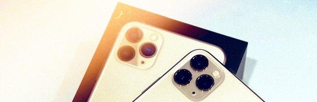 iPhone 11 Pro Max ausgepackt: Apple-Handy im ersten Unboxing