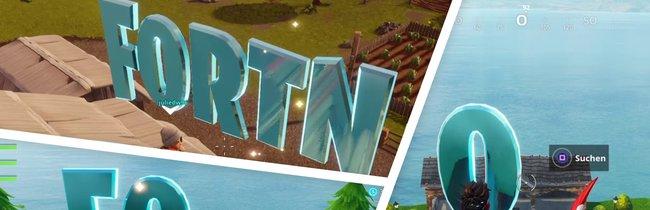 Fortnite - Battle Royale: Alle Fundorte der Buchstaben (Woche 1)