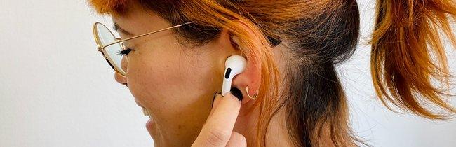 AirPods Pro in Bildern: So sehen die Apple-In-Ear-Kopfhörer mit Noise Cancelling aus