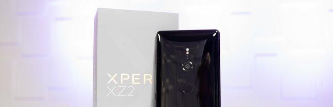 Sony Xperia XZ2 in Bildern: Glasschönheit mit Überraschungen