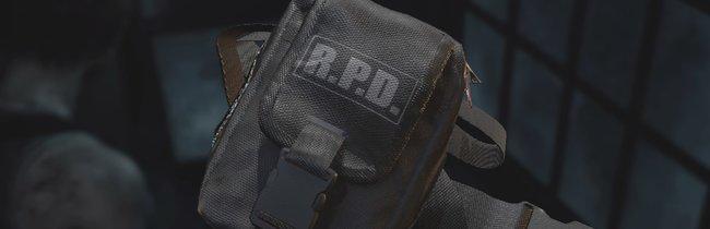 Resident Evil 3: Inventar vergrößern - alle Gürteltaschen-Fundorte